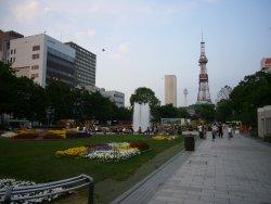 さっぽろテレビ塔と大通公園
