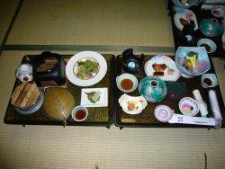 洞爺観光ホテルの夕食